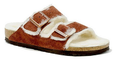 Birkenstock Arizona Fur port