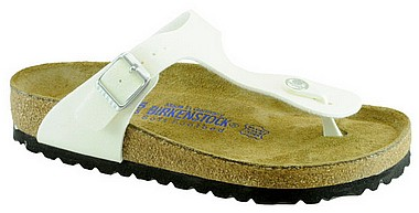 Birkenstock Gizeh magic galaxy weiss