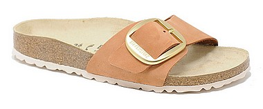 Birkenstock Madrid Big Buckle brandy nubuck