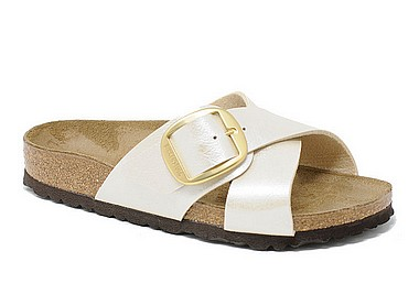 Birkenstock Siena graceful pearl white