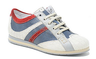 Clocharme 2132 white blue red