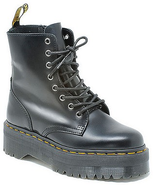 Dr.Martens Jadon nero polished smooth