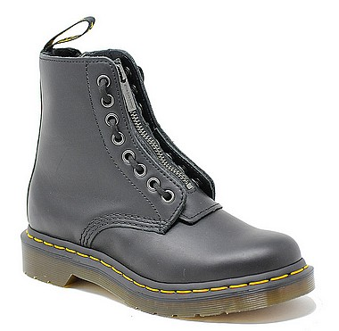 Dr.Martens Pascal Front Zip nero nappa