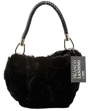 La Thuile Mary Borsa Cincilla black
