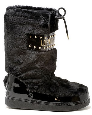 Love Moschino JA24062G06JS Snow Boot nero