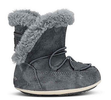 Moon Boot® Moonboot Crib Suede antracite