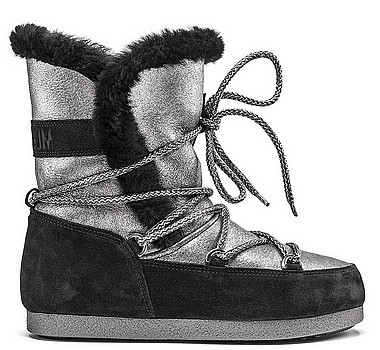 Moon Boot® Moonboot Far Side High Sh silver black