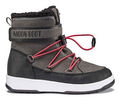 Moon Boot® Moonboot JR Boy Boot WP black castelrock