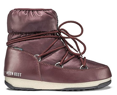 Moon Boot® Moonboot Low Nylon WP port royale