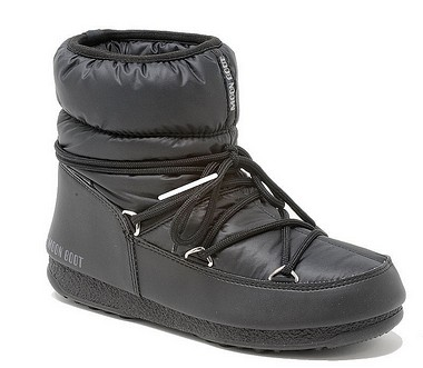 Moon Boot® Moonboot Low Nylon WP nero