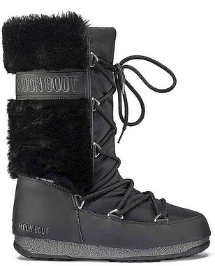 Moon Boot® Moonboot Monaco Fur WP black