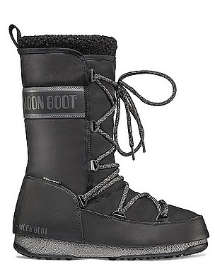 Moon Boot® Moonboot Monaco Wool WP black