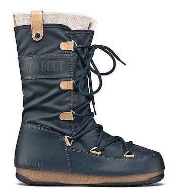 Moon Boot® Moonboot Monaco Felt WP blu denim