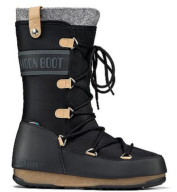 Moon Boot® Moonboot Monaco Felt WP nero