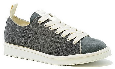 Panchic Champagne M Low Canvas shark frost antracite