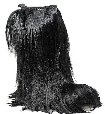 Panchic P01High Boot Long Hair black