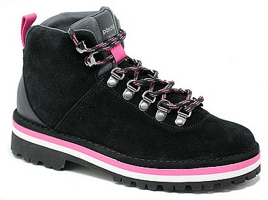 Panchic P09 Woman Hiking Boot black multicolor