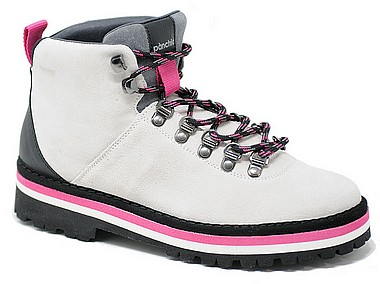 Panchic P09 Woman Hiking Boot white black multicolor