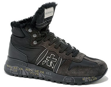 Premiata Jeff darkbrown 4275