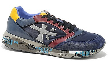 Premiata Zac Zac Uomo blue bordo