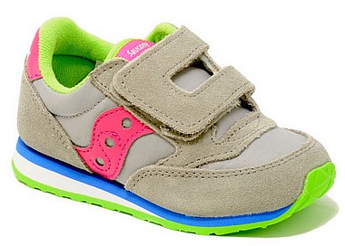 Saucony Jazz HL Baby grigio pink lime