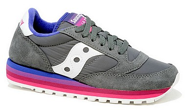Saucony Jazz Original Rainbow charcoal purple