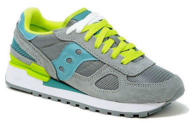 Saucony Shadow Original W S1108 grau blau lime