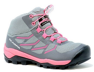Scarpa® Neutron Mid Kid Waterproo grigio rosa