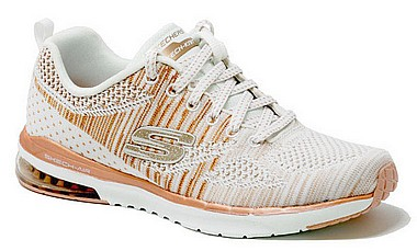 Skechers 12114 Stand Out bianco rose gold
