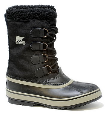 Sorel 1964 Pac Nylon black tusk