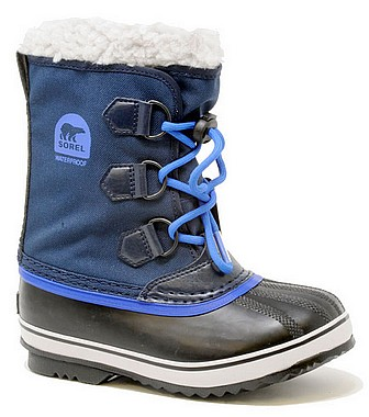 Sorel Youth Pac Nylon collegiate navy super blue