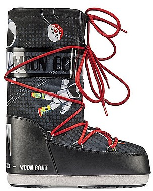 Tecnica Moon Boot JR Boy SpaceMan schwarz anthrazit
