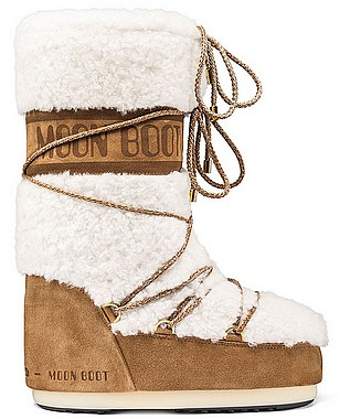 Tecnica Moon Boot Wool sabbia off bianco