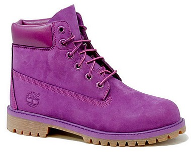 Timberland Classic Boot 6 Junior grape juice