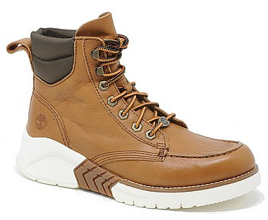 Timberland MTCR Moc Toe Boot brown full grain