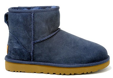 UGG® Classic Mini II Woman navy blau