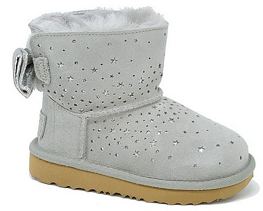 UGG® Classic Mini Stargirl Jun seal grigio