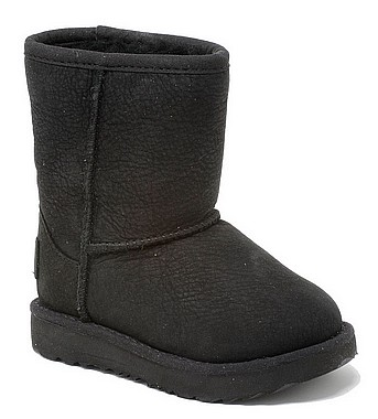 UGG® Classic Short II WP Kid nero