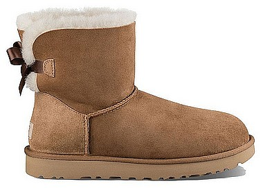 UGG® Mini Bailey Bow II Kid chestnut marrone