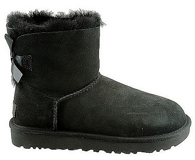 UGG® Mini Bailey Bow II Kid nero