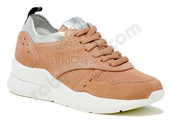 c9362c0194 Liu Jo Karlie 14 Sneaker peach. Sneakers with wedge heel