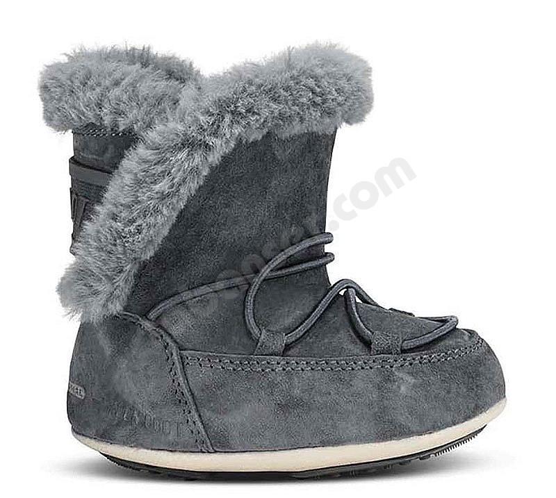 sale retailer f8d7d e4ad3 Moon Boot® Moonboot Crib Suede - Kinder Winterstiefel