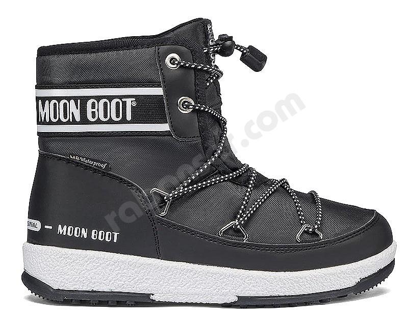 Botas de Nieve Ni/ños Moon-boot Jr Boy Mid WP