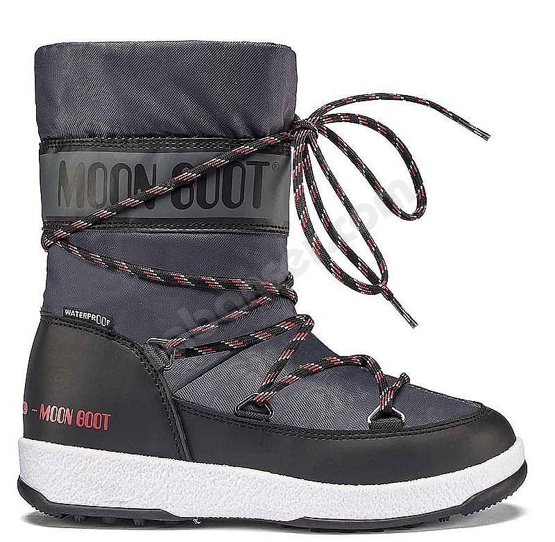online retailer 49356 dbaa8 Moon Boot® Moonboot JR Boy Sport WP - Children snow boots