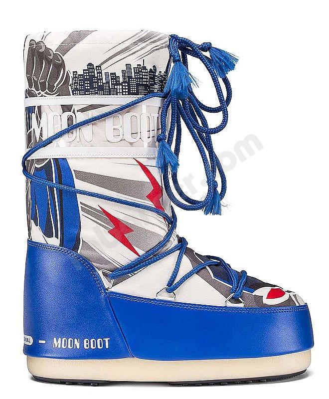 new product 1f6a6 367de Tecnica Moon Boot JRBoy Superhero - Moon Boots