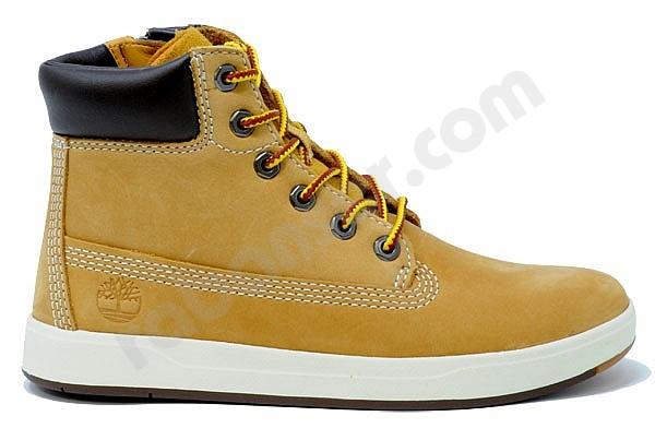 0bbf4bc7e2a01 Timberland Davis Square 6 Inch Jun wheat. Mid high children shoes